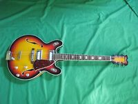 Vintage 1960's Encore / Teisco Hollowbody Electric Guitar Made in Japan