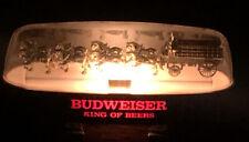 Budweiser Anheuser Busch Clydesdale Lamp