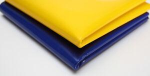 LKW Plane gelb blau Pferdesport Gassen Boden PVC Material (600-700g) 3m - 3,2m