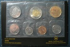 RCM - 2009 - Uncirculated Proof Like 7 Coins Set - Exact as shown