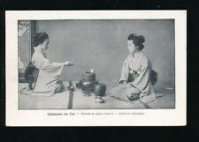 Japan Ceremonie du The advert France Librairie Larousse c1910/20s? PPC