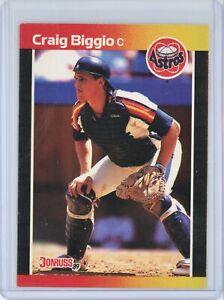 1989 Donruss #561 CRAIG BIGGIO Rookie RC (Astros) HOF