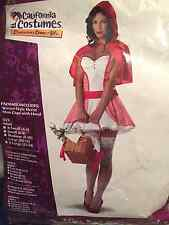 Miss Red Riding Hood Costume NEW Size Large (10-12)
