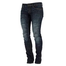 Pantalones de rodilla para mujer color principal azul para motoristas