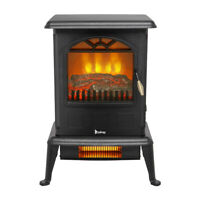 Infrared Heater Space Heater Fireplace Stove Portable Infrared Quartz Large Room