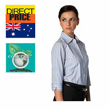 Womens Blouse Shirts Ladies Cotton formal Casual Office Top Business Uniform