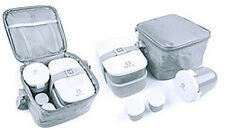 BPA Free 6-Piece Bento Lunch Box Set With Utensils For Kids And Adults