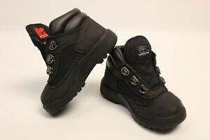 Timberland Helcor Boots Black 3381R 105105 Kids Size 7 No Laces