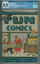 MORE FUN COMICS #20 CGC 4.0 CR/OW PAGES