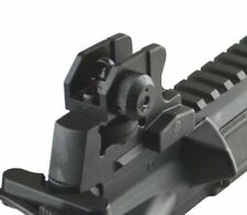 Black Rifle Match-Grade Detachable Rear Iron Sight UTG 223 Black 223 308
