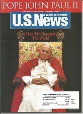 U.S. News & World Report Magazine - April 11, 2005 - Pope John Paul II