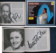 Tomowa-Sintow Rydl signed Strauss fil qu'Ariane à Naxos Baltsa Battle Bonney Levine