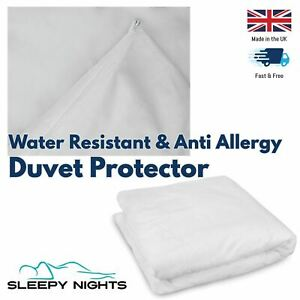 Anti Allergy Dust Free Water Resistant Zipped Duvet Protector