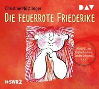 CHRISTINE NÖSTLINGER - DIE FEUERROTE FRIEDERIKE, BRIGITTE GROTHUM   CD NEW