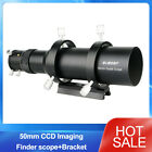 50mm CCD Imaging Guide Scope Finderscope w/ Bracket for Astronmical Telescope