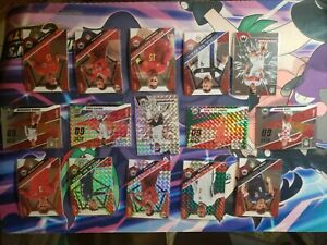 2020-21 mosaic soccer Euro 2020 Insert Lot. 15 Cards, 6 Mosaic Prizms & 9 Base