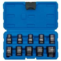 "Draper 1/2"" Drive Metric Impact Socket Set 10 Piece 83092"