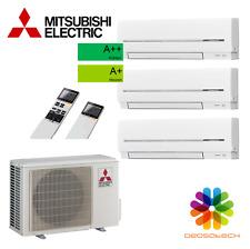 Mitsubishi-Klimaanlage-Multi-Split für 3 Räum 2xMSZ-SF15VE+1xMSZ-SF25VE+Inverter