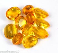 102-5002 Ct. Oval Shape Brazilian Loose Yellow Citrine Gemstone Wholesale Lot