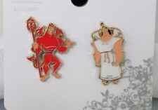 Disney Loungefly Kronk Devil Angel Pin Set Emperor's New Groove New on Card