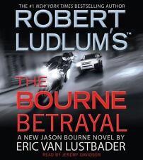 THE BOURNE BETRAYAL bestselling audio CD by ROBERT LUDLUM & ERIC VAN LUSTBADER