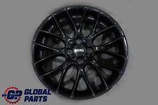 "*BMW Mini Cooper R56 Black Wheel Alloy Rim 17"" 7J ET:48 Cross Spoke Challenge"