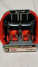 """Powersports Cambuckle Tie Down 2"""" x 8' 750lb Safe Work Load 2 Pack Brand New"""