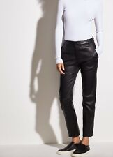 Vince Coin Pocket Stretch-Leather Pant  # V478121518 Black Size 10 NWT ($1195)