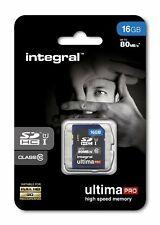 Integral 16GB SDHC Card SDHC Card HD Camcorders Digital camera Memory Card