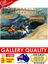 NEW Edward Hopper - Bridle Path, 1939 - Horse Riding, Giclee Art Print or Canvas