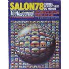 L'Auto Journal, salon 1978