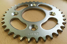 35T Rear Sprocket suitable for use with Honda CRF50 XR50