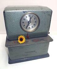 Benzing Zeiterfassung Uhr Stechuhr Vintage Kult Stempeluhr Industrie Design