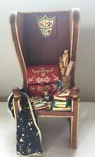 "Minis With Music Handmade Magic ""Harry Potter"" Style 10"" Music Box Greensleeves"