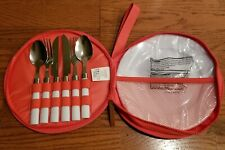 Sunnylife Picnic Set Spoon Fork Knife Plates NEW Travel Summer Picnic