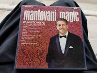 Mantovani Magic Mantovani and His Orchestra Reel-To-Reel SDP Audio Tape 71/2 IPS