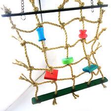 1PC Parrot Bird Pet Toy Rope Net Swing Ladder Toys Climbing Fine Play Gym Set