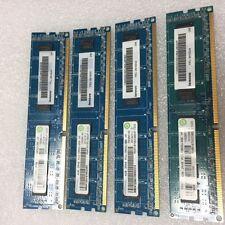 4GB RAMAXEL PC3-10600U DDR3 1333 Mhz Non-ECC Desktop PC Memory