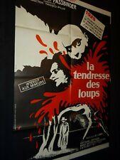 LA TENDRESSE DES LOUPS Rainer-Werner Fassbinder affiche cinema 1973