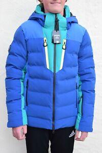 BNWT Superdry Snow Radar Pro Puffer Jacket, Blue, Snow, Ski Winter, RRP £250