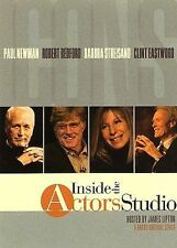 3 Disc Set - Inside The Actors Studio - Newman / Redford / Streisand / Eastwood