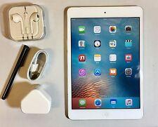 Un #GRADE # APPLE IPAD MINI 16 GB, Wi-Fi + 4 G (Sbloccato), 7.9 in (ca. 20.07 cm) - bianco + extra