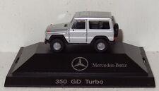 Herpa MB 350 GD Turbo - Vorsicht, bissige Limiousine. - 1:87 in PC und OVP