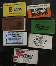 Fantastic Greenland Private Stamp Advertising Booklets Collection Lot 9 Diff Mxe