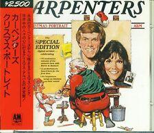 CARPENTERS Christmas Portrait JAPAN Early Press CD D25Y3286 2500Yen OBI