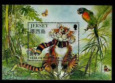 """1998 Jersey Chinese New Year """" Year of the Tiger """"Minature Souvenir Sheet"""