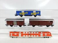 CF747-0,5# 3x Märklin H0/AC Güterwagen SBB-CFF NEM KK: 4836 etc, sehr gut