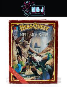 1989 HERO QUEST: Kellar's Keep  ~~COMPLETE~~  *RARE* (Aussie Seller)