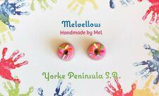 Pink Sprinkle doughnuts Melvellous earrings