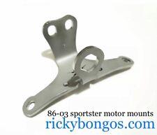 Custom Top Motor Mount w/ Key & Coil Mount Relocation for 86-03 Harley Sportster